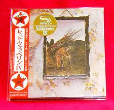 Led Zeppelin IV JAPAN SHM MINI LP CD WPCR-13133 Led Zeppelin 4
