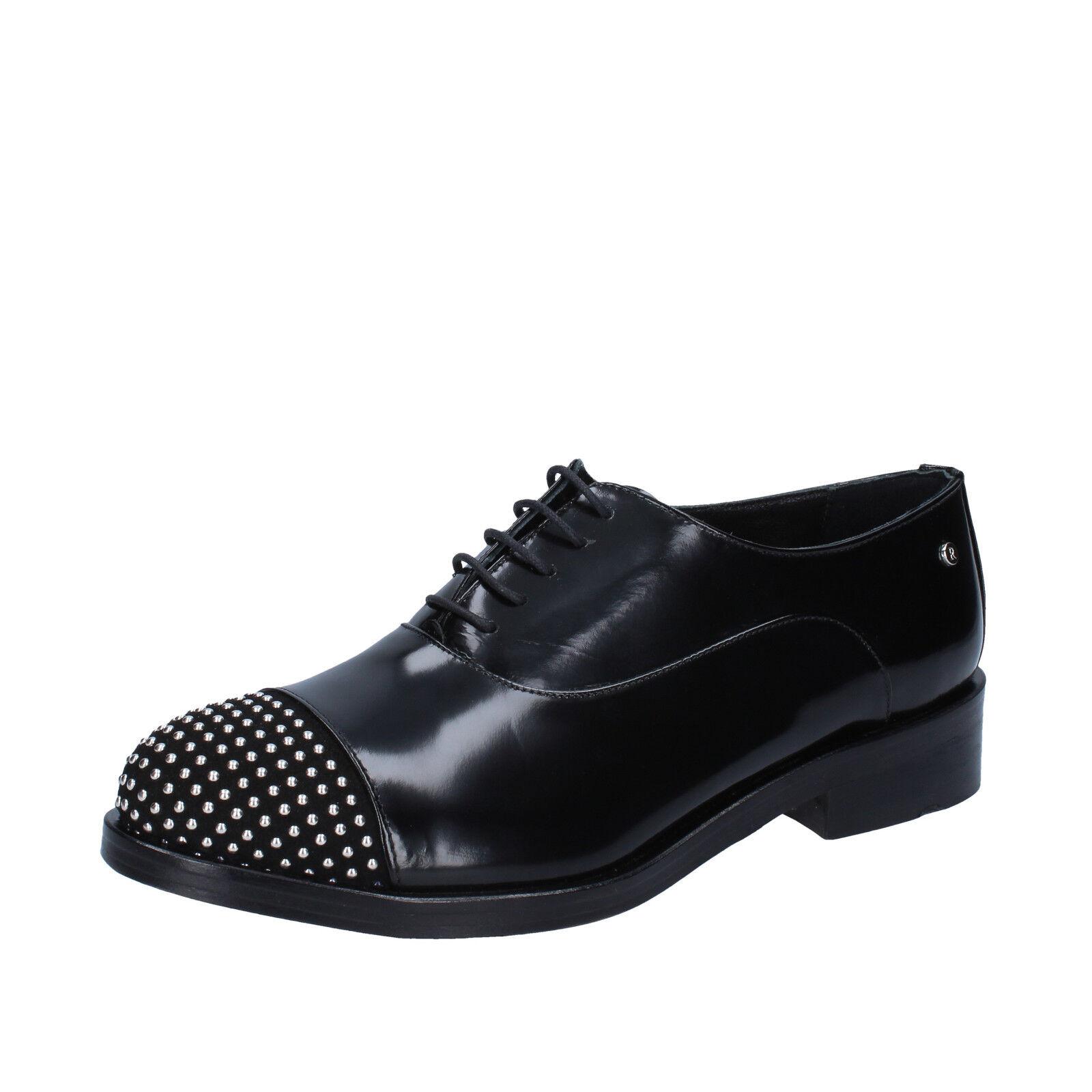 Scarpe donna REVE D'UN JOUR nero 38 EU classiche nero JOUR pelle lucida camoscio BZ462-D 900371
