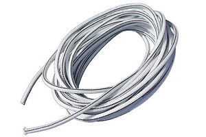 "USA 5/16"" x 25' Bungee Cord Shock Cord Bungie Cord Marine Grade Stretch Cord WHT"