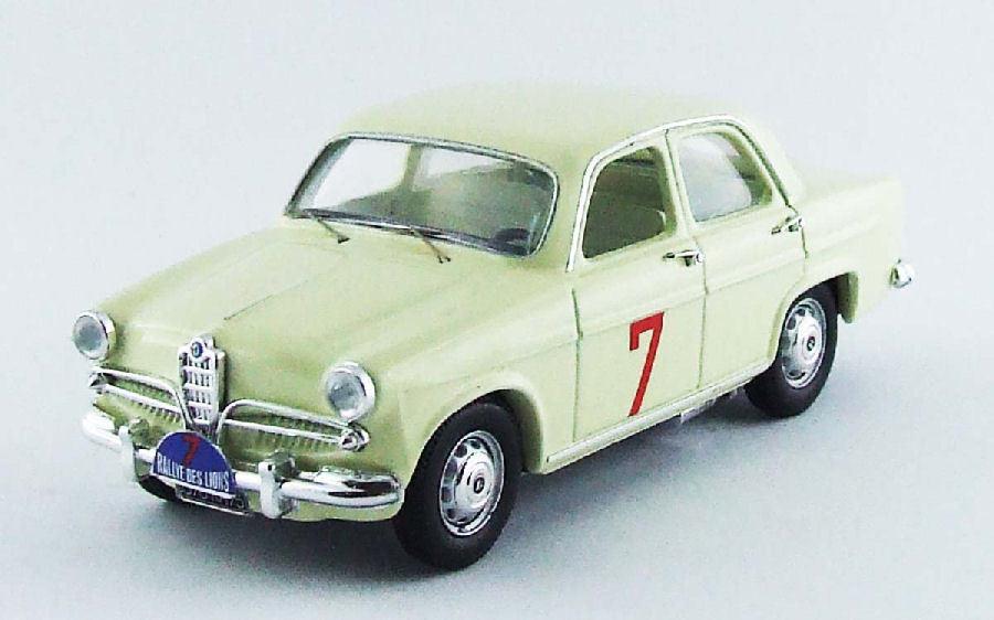 la calidad primero los consumidores primero Alfa Romeo Giulietta T.I.  7 Rallye del del del Lions 1961 jose 'rosinsky 1 43 Model río  tienda de pescado para la venta