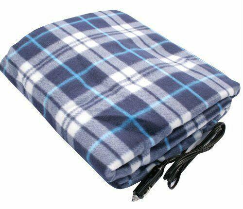 Heated Car Van Travel Electric Blanket