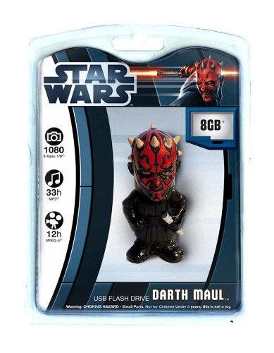 Tyme Machines Star Wars Darth Maul 8GB USB 2.0  Flash Drive