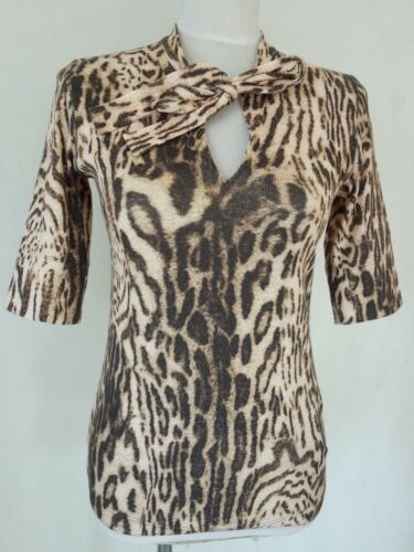 Mit amp; Animal N3 Shirt Marccain N6 Schluppe Neu N4 print Extravagantes qwTXz6E