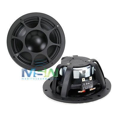"MOREL ELATE MW 6 Ti 6-1/2"" TITANIUM CAR AUDIO MID WOOFER DRIVERS SPEAKERS MW6"