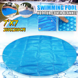 Details zu 7\' Round Spa Hot Tub Thermal Bubble Solar Blanket Cover Heat  Retention 15 Mil US