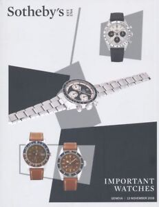 Sotheby-039-s-Catalogue-Geneva-Important-Watches-13-November-2018-HB