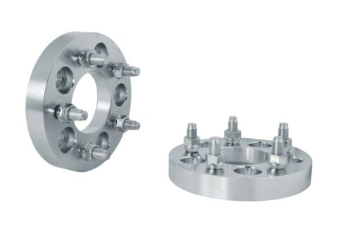 """25MM THICK WHEEL SPACERS 1//2/"""" STUDS 4 WHEEL SPACERS 5x4.5/"""" OR 5x114.3 1/"""""""