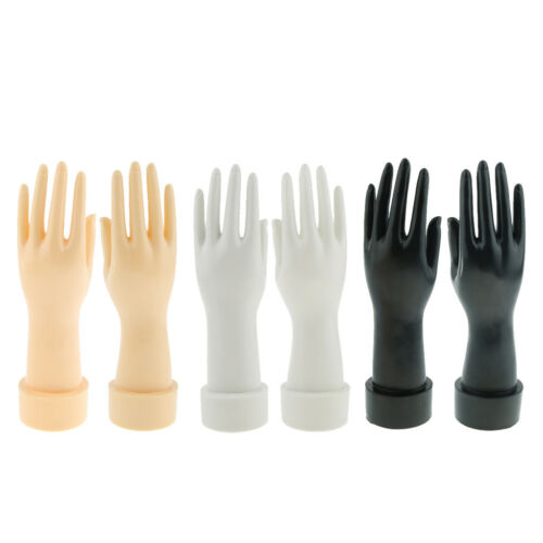 3 Colors Female Adult Left Hand Right Hand Mannequin Glove Display Molds