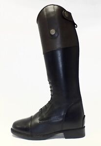 """Brogini """"Angelo"""" Child's Brown Top Long Leather Riding Boot  </span>"""