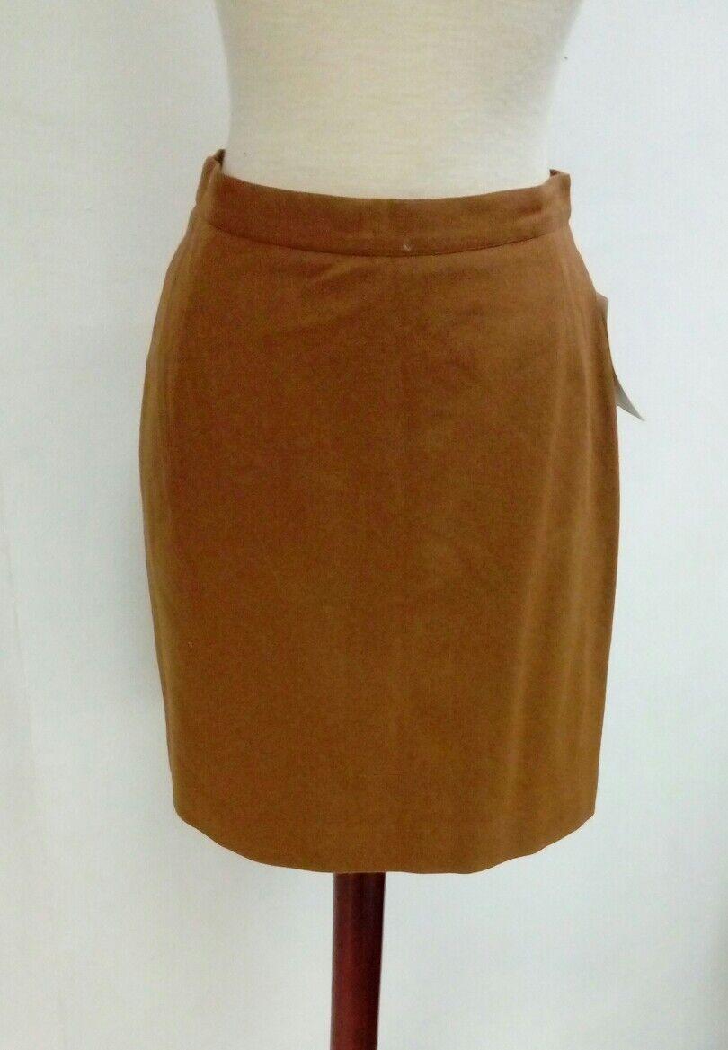 Bonita good SKIRT SIGRID woman short Size 42 brown winter NEW Ref. 2.1.13