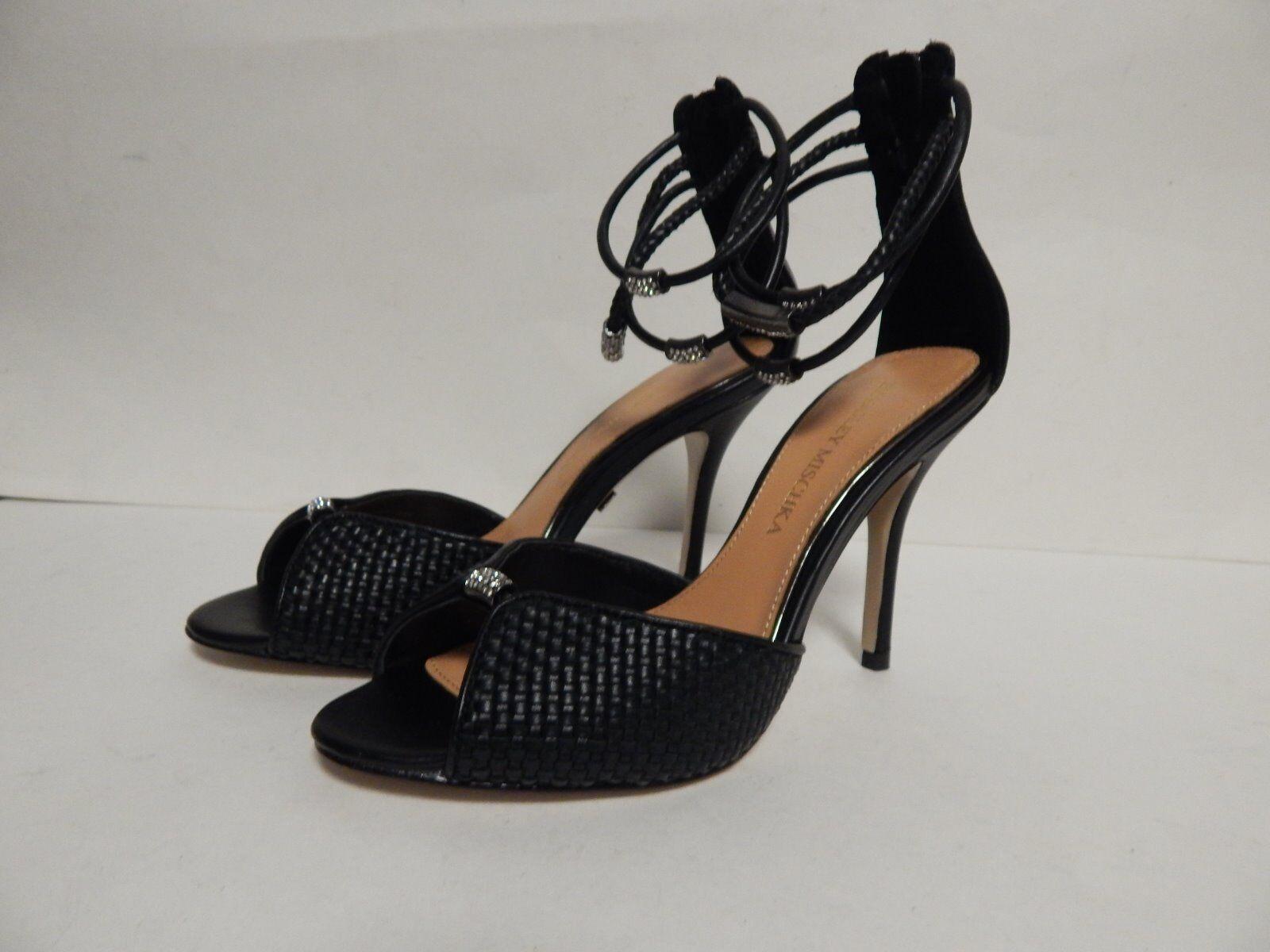 Badgley  Mischka Kandyce Open Toe Sandal 6 6.5 MISMATE New w Defect Floor Sample