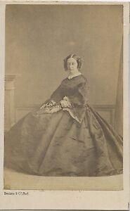 Denisse Fotografia Primitivo A Bordeaux CDV Vintage Albumina Ca 1860