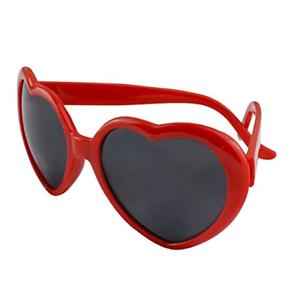 e2abb59709d8 Image is loading Fashion-Womens-Girls-Red-Heart-Sunglasses-Love-Heart-