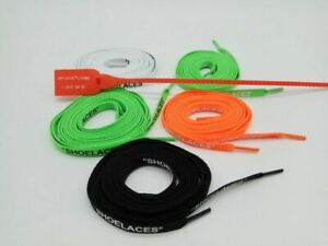 215efa532 Image is loading Replacement-Laces-Custom-Shoelaces-For-Off-White-Sneaker-