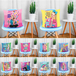 Home-Decor-Cute-Girl-JoJo-Siwa-Pillow-Case-Sofa-Car-Bed-Pillowcase-Cushion-Cover