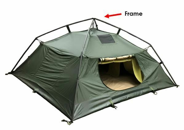 Soldier Crew Tent  Frame with Storage Bag