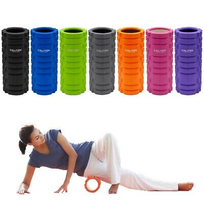 yoga pilates and sports exercise hollow foam roller high