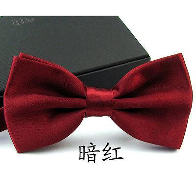 1pc Men's Bowtie Wedding Party Adjustable Necktie Bow Tie For Suits Tuxedos