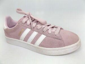 Girls adidas Campus Pink Suede Sport