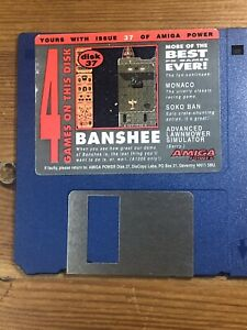 Amiga-Power-Magazine-cover-disk-37-Banshee-TESTED-WORKING