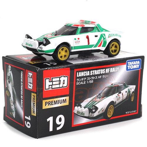 Takara Tomy TD Tomica-Premium No.19 1//58 Lancia Stratos Rally Type Car #VX866299