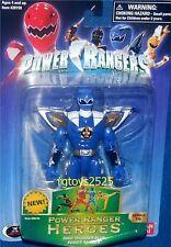 """Power Rangers Dino Thunder 5"""" Blue Ranger New Heroes Series 16 Factory Sealed"""