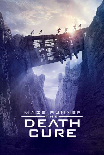 The Death Cure Movie Poster Print T1018 A4 A3 A2 A1 A0| Maze Runner