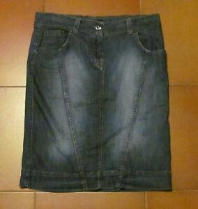 Gonna-in-jeans-Niama-di-Conbipel-Taglia-42