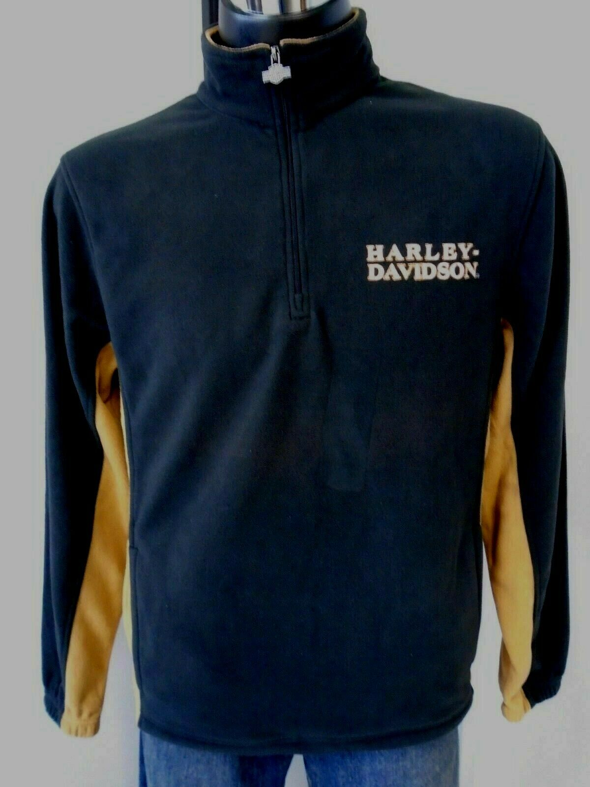 98cbc894c8a0 Davidson Men s 110th Anniversary Tailpipe Tradition Fleece Harley ...