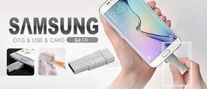 Original SAMSUNG 64GB EVO Metal OTG USB Memory Card for GALAXY S7 edge Note 5