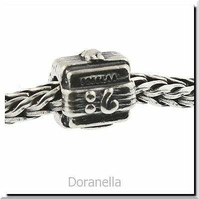 Authentic Trollbeads Silver Music Box 11109