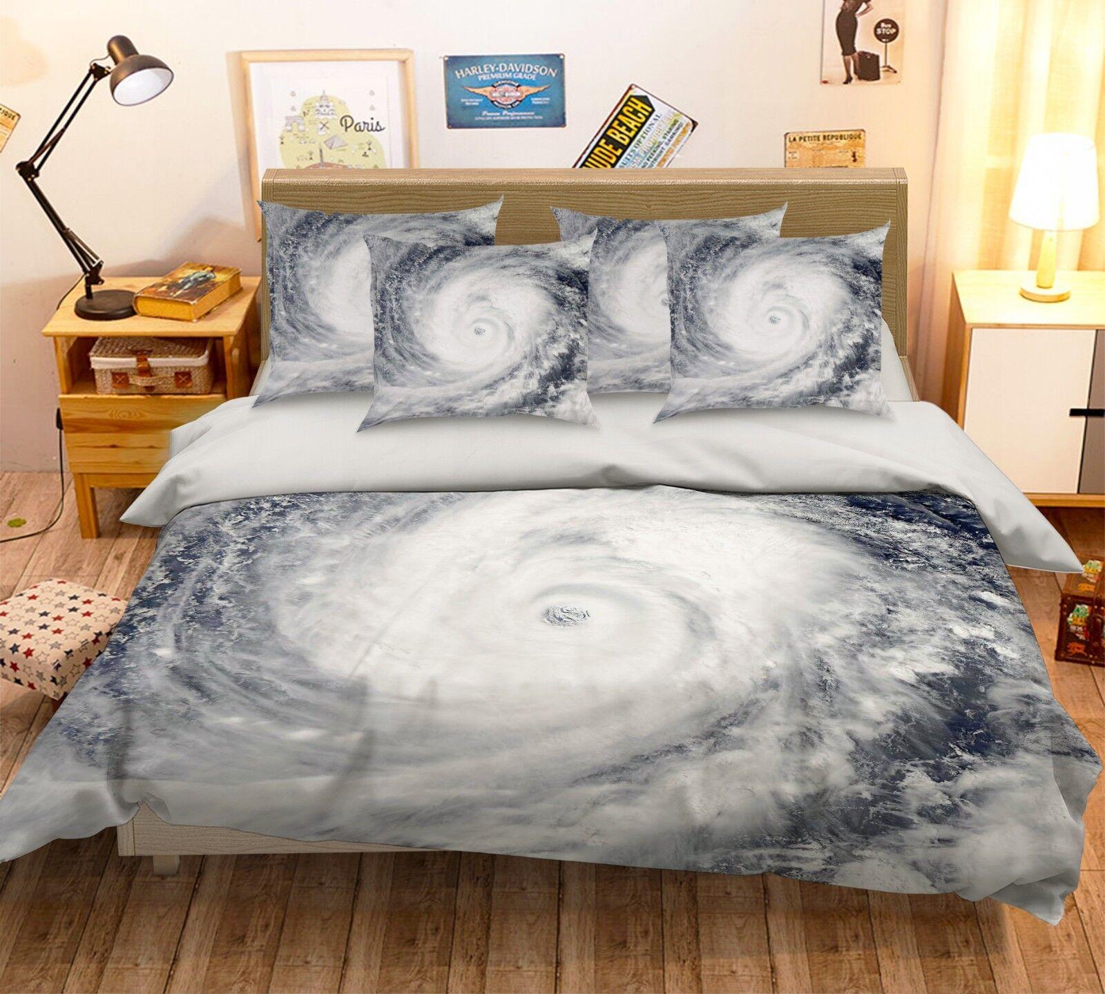 3D Sketch Vortex 226 Bed Pillowcases Quilt Duvet Single Queen King US Summer