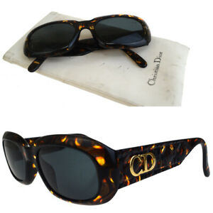 Auth-Christian-Dior-Cannage-Sunglasses-Eye-Wear-Plastic-2006A-S-Vintage-01AC033