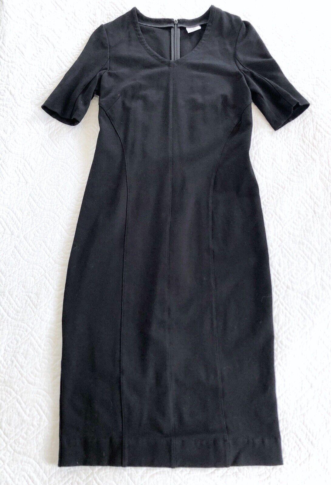 CAbi Claire Short Sleeve V Neck Sheath Dress Pont… - image 9