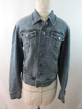 Dollhouse Long Sleeve Stretch Blue Jean Denim Jacket Snap Buttons Size M