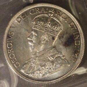 1936-Canada-Dollar-Certified-ICCS-63-Uncirculated-Nice-Free-U-S-Shipping