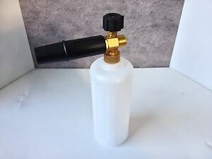 new heavy duty 1 4 bsp female pressure washer snow foam. Black Bedroom Furniture Sets. Home Design Ideas