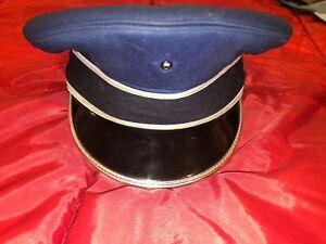 US-Military-USAF-Blue-Service-Air-Force-Dress-Cap-Size-7-ART-CAPS-NEW-YORK-CADET