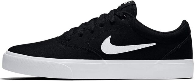 Size 13 - Nike SB Charge Canvas Black for sale online | eBay