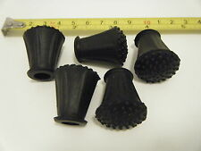 5 Rubber Feet for Vintage Drum Kits, Premier, Ajax, ETC
