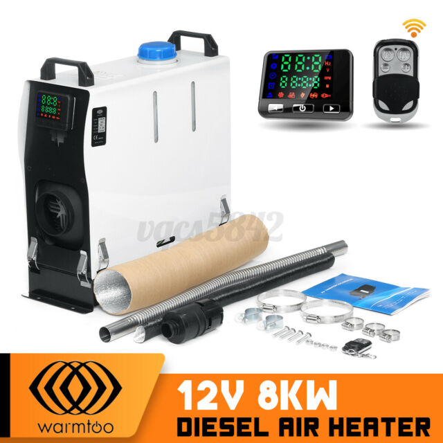 WARMTOO 12V 8KW Diesel Air Heater For Truck Car Trailer Boat Bus