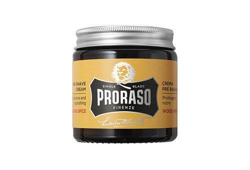 PRORASO Pre-Shave Cream – Wood and Spice (100ml)