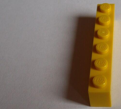 Lego 50 Stück gelbe Steine 1x6 Stein in gelb City Basics Bausteine Neu 3009