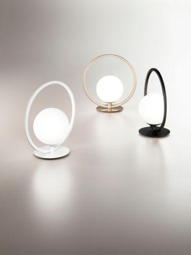 Fabas Luce 3388-30-101 schwarz Design LED  Nacht Tisch Leuchte Lampe Sirio 1flg