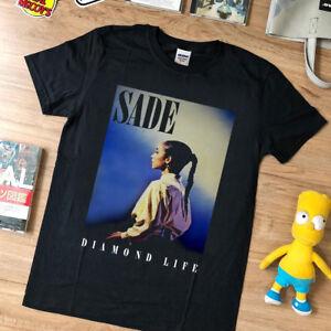 de91d9a5 NEW rare - VTG- Sade Diamond Life top gildan t shirt USA size ...