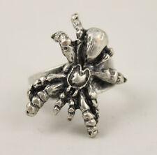 SPINNE Atrax robustus SPIDER RING METALL