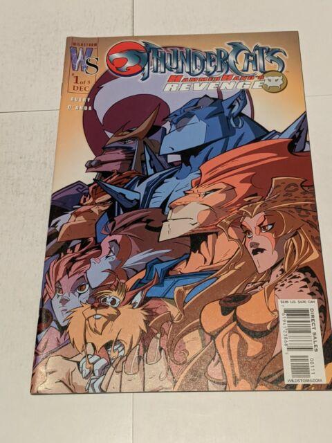 Thundercats Hammerhand's Revenge #1 December 2003 Wildstorm DC Comics VARIANT