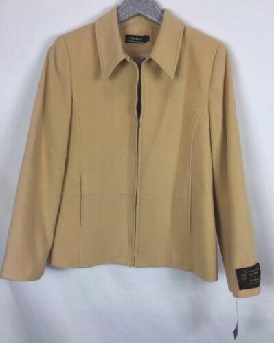 Silk Coat Colour Front Ull Nwt Sz Corn Tribal Zip 8 a6HqwxpWFU