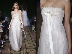 Ethereal Wedding Dress.Details About Claire Pettibone Ethereal Wedding Dress Twilight