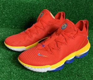 Nike Lebron 16 Low Red SuperBron Super